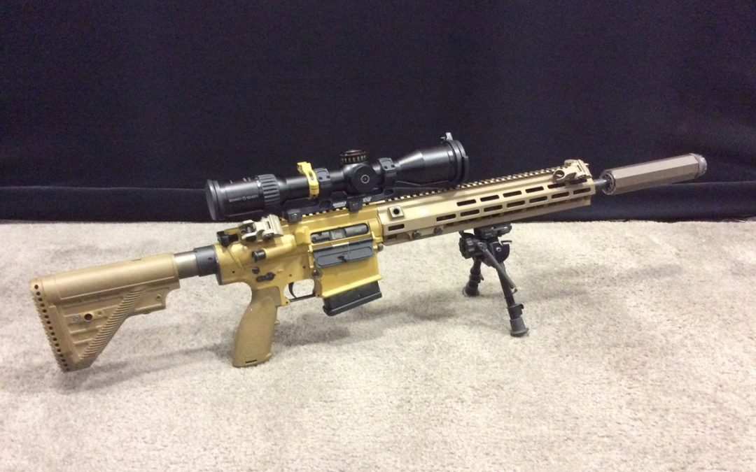 US Army Considers Battle Rifle in 7 62 NATO