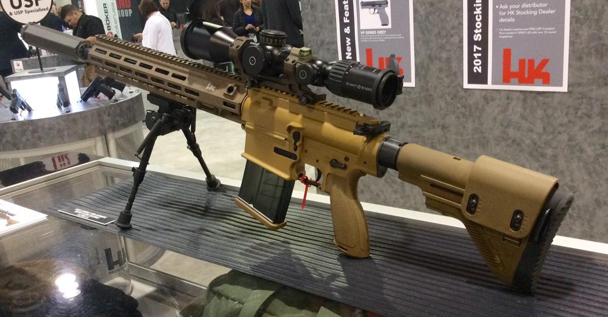 HK M110A1 HK 417 Variant