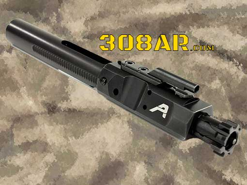 Picture of an Aero Precision Black Nitride .308 Bolt Carrier Group