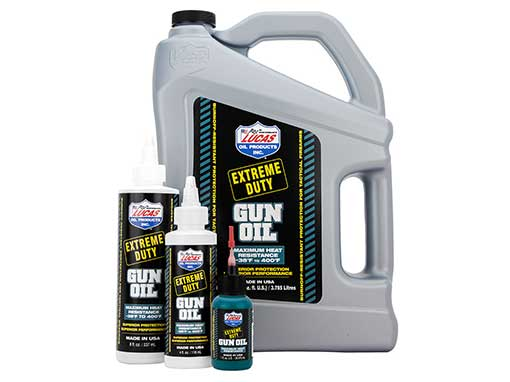 Lucas Extreme Duty Gun Oil and Grease | Lucas Oil
