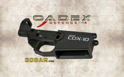 CADEX DEFENCE CDX-10 | AR-10 B LOWER RECEIVER