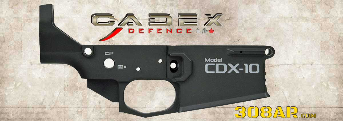 Picture of a CADEX DEFENCE CDX-10 LOWER RECEIVER