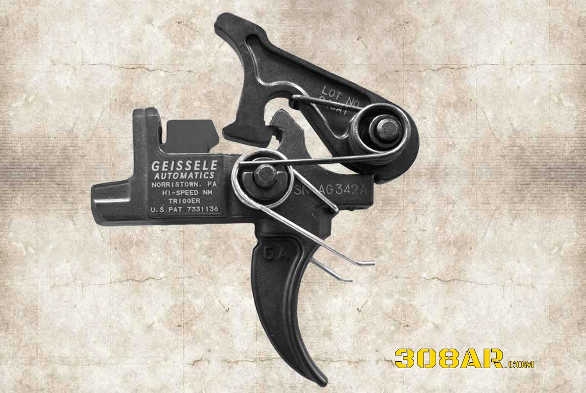 Picture of a GEISSELE AR 308 HI-SPEED NATIONAL MATCH TRIGGER SET