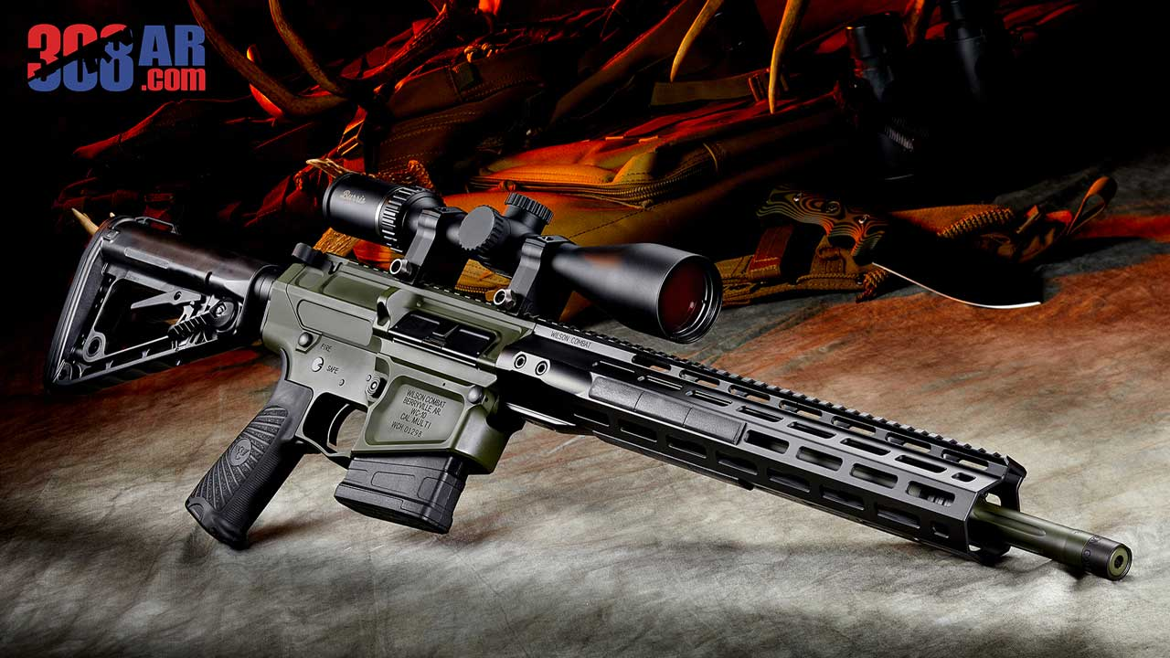 WILSON COMBAT TACTICAL HUNTER 308 AR RIFLE