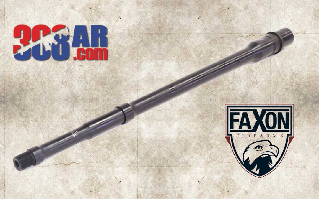 FAXON FIREARMS BIG GUNNER PROFILE 308 AR DROP-IN BARREL