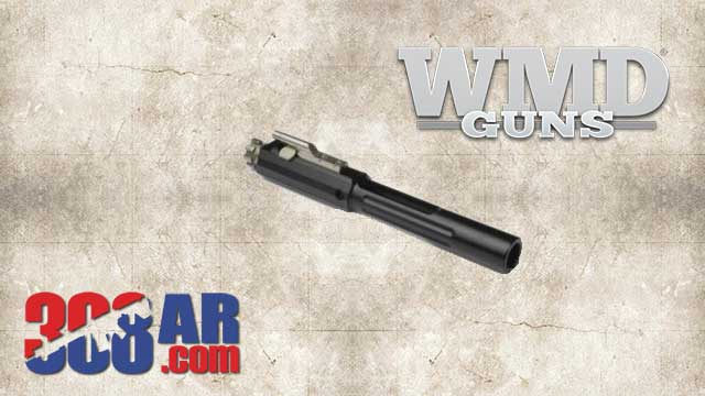 WMD NiBXBCG308-N 308 AR Bolt Carrier Group with Nitromet Carrier