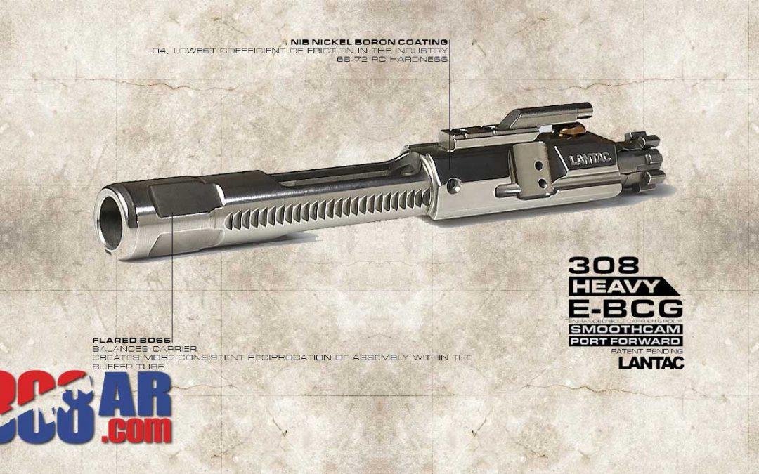 LANTAC .308/7.62X51MM Enhanced Full Auto Style Bolt Carrier Group NiB Coated E-BCG