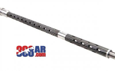 BSF BARRELS 6.5 CREEDMOOR RIFLE+2 GAS 1-8 TWIST 22 INCH BLACK/GRAY FLUTED