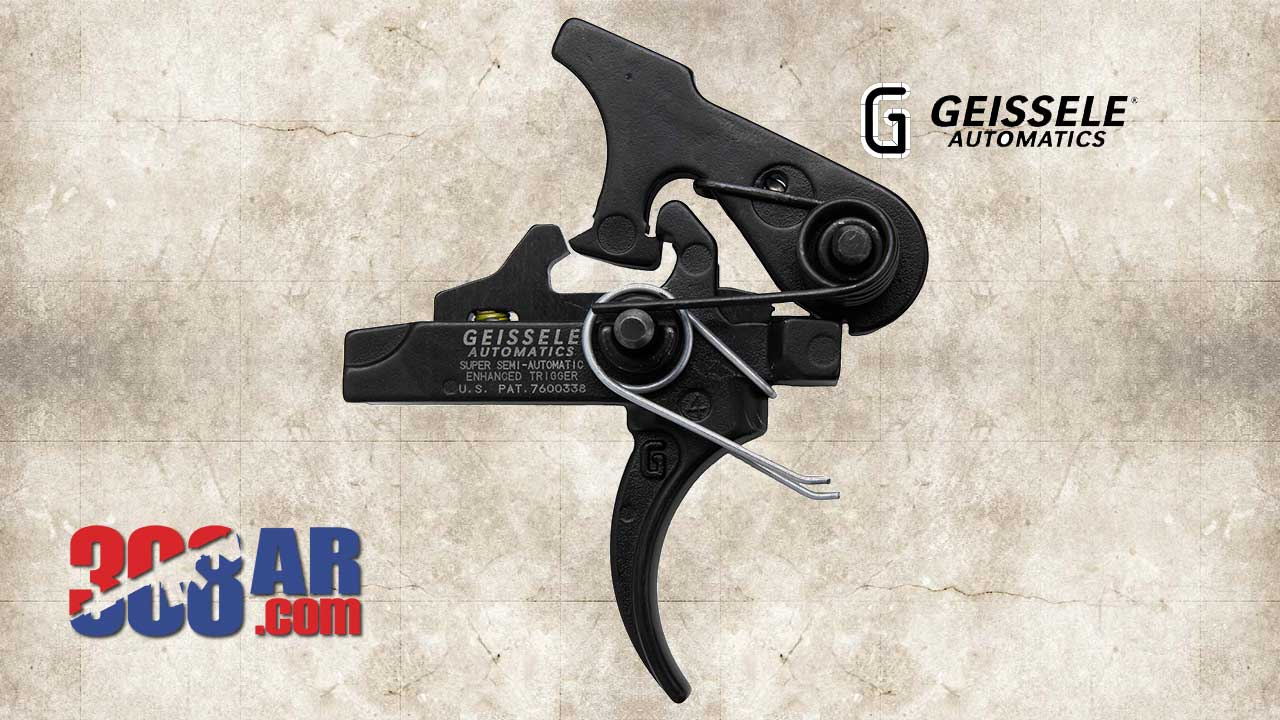 Picture of a Geissele Super Semi-Automatic Enhanced SSA-E Trigger