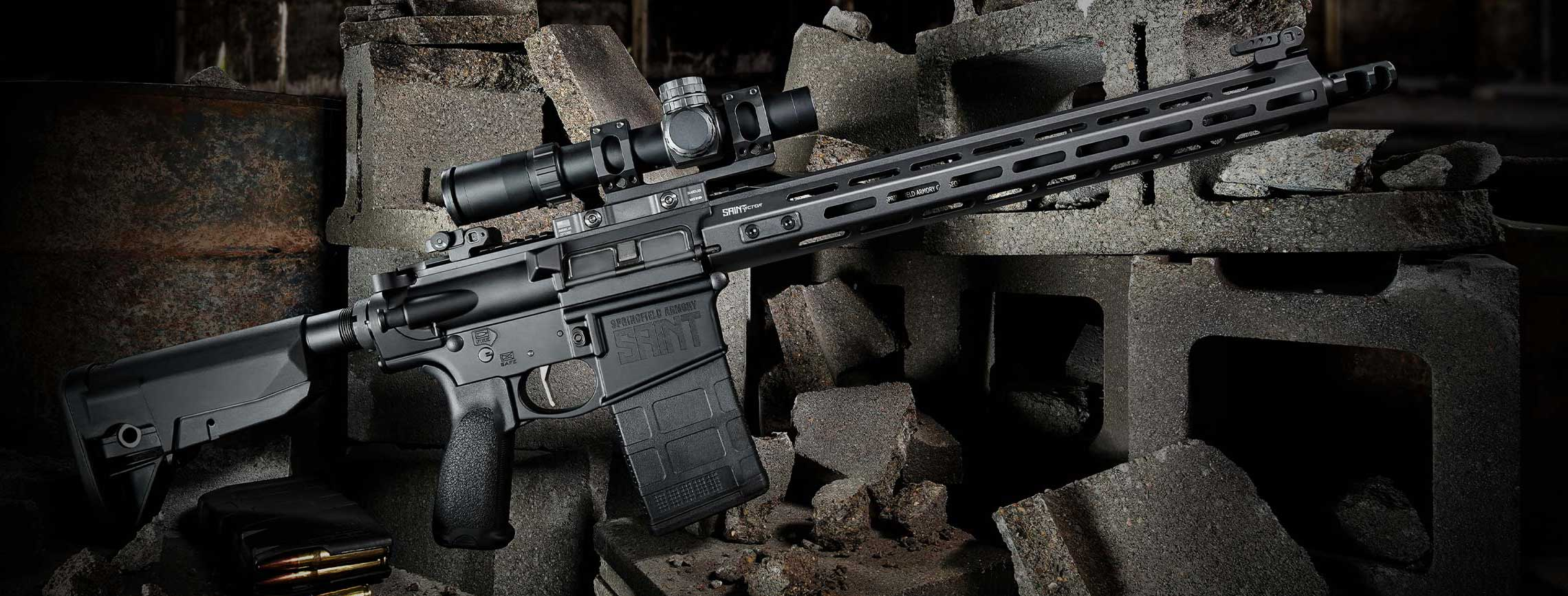 Picture of a Springfield Armory Saint Victor 308