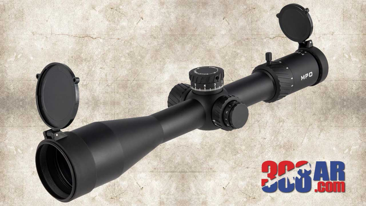 Picture of a BROWNELLS MATCH PRECISION OPTIC (MPO) 5-25X56MM RIFLE SCOPE MPO052556MIL