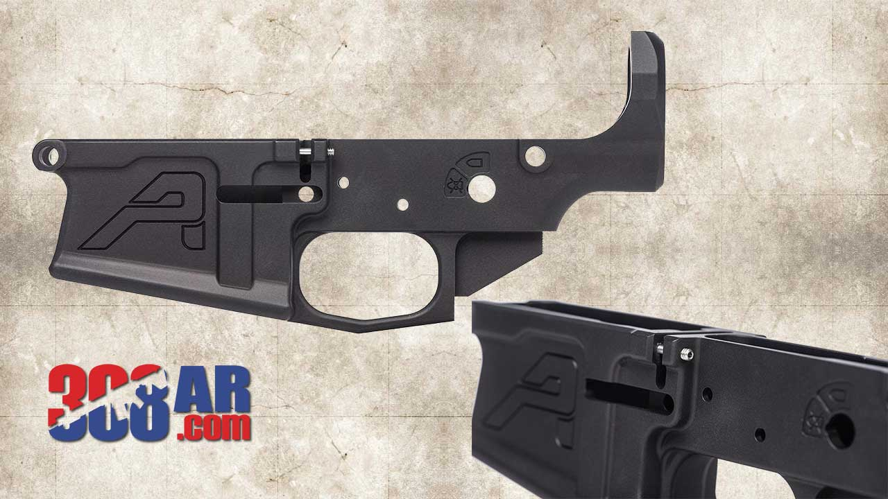 Picture of an Aero Precision M5 308 AR Stripped Lower Receiver