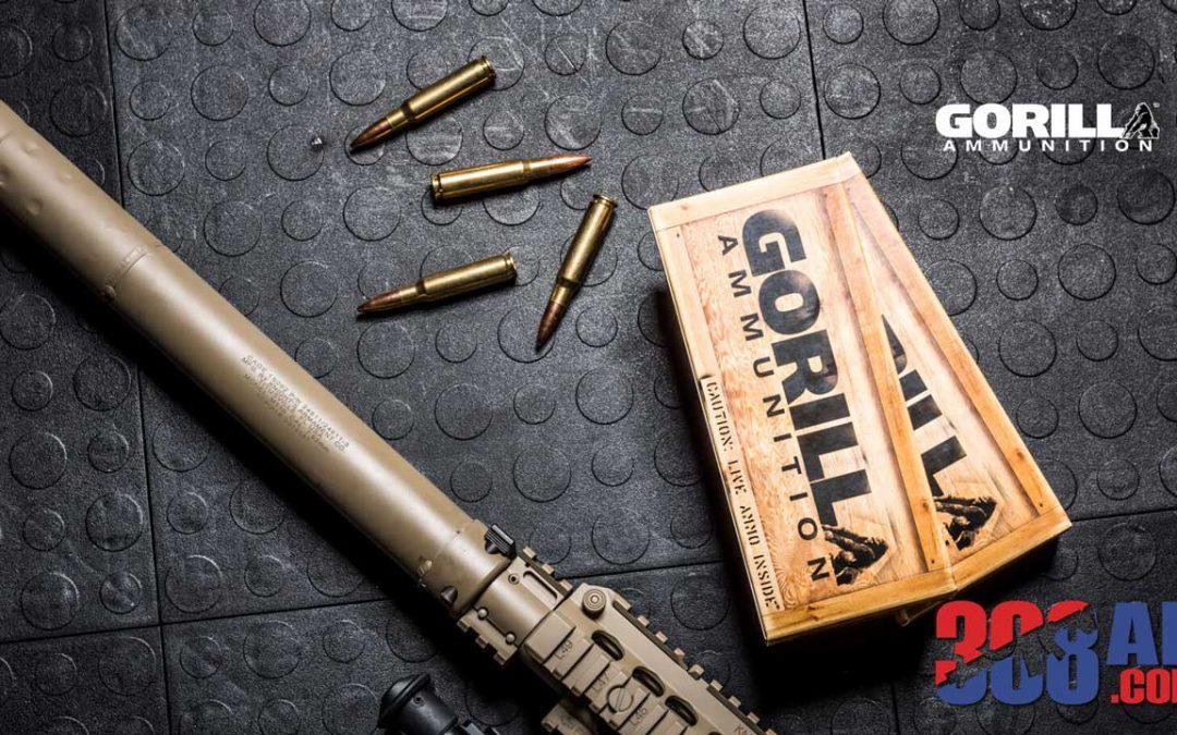 Gorilla Ammo 308 WIN 168gr Sierra MatchKing