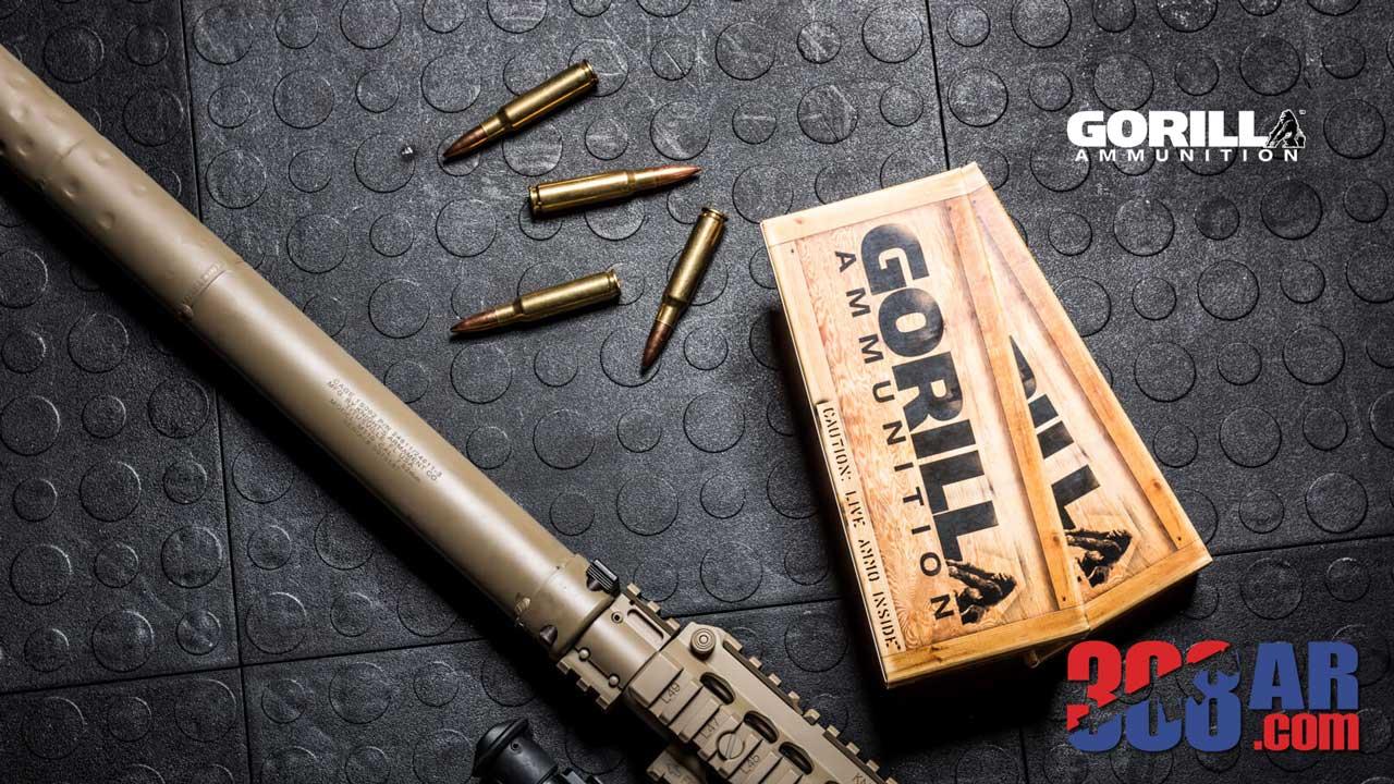 Picture of Gorilla Ammo 308 WIN 168gr Sierra MatchKing Match Ammunition