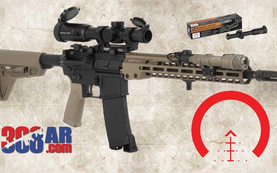 PA Slx 1-6x24mm FFP Illuminated Rifle Scope With ACSS Raptor Reticle