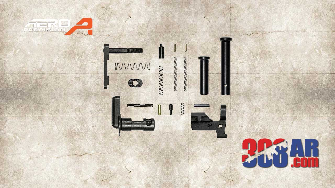 Aero Precision M5 308 Lower Parts Kit Minus FCG Pistol Grip
