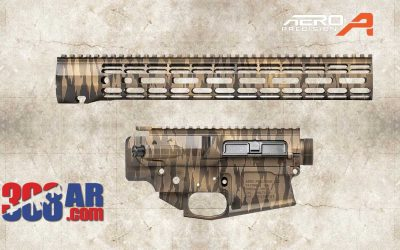 Aero Precision M5 Exotic Tiger Stripe Builder Set 308