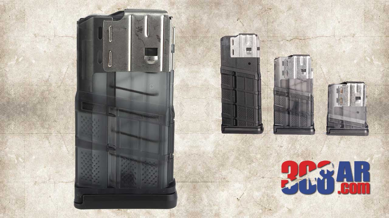 Lancer Systems L7AWM 20-Round Magazines Smoke
