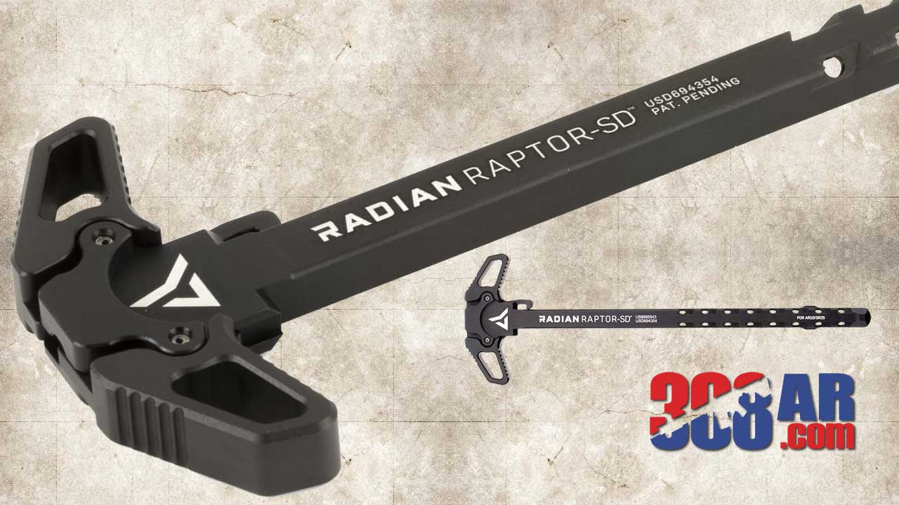 Radian Raptor-SD Ambidextrous Charging Handle Assembly .308 R0012