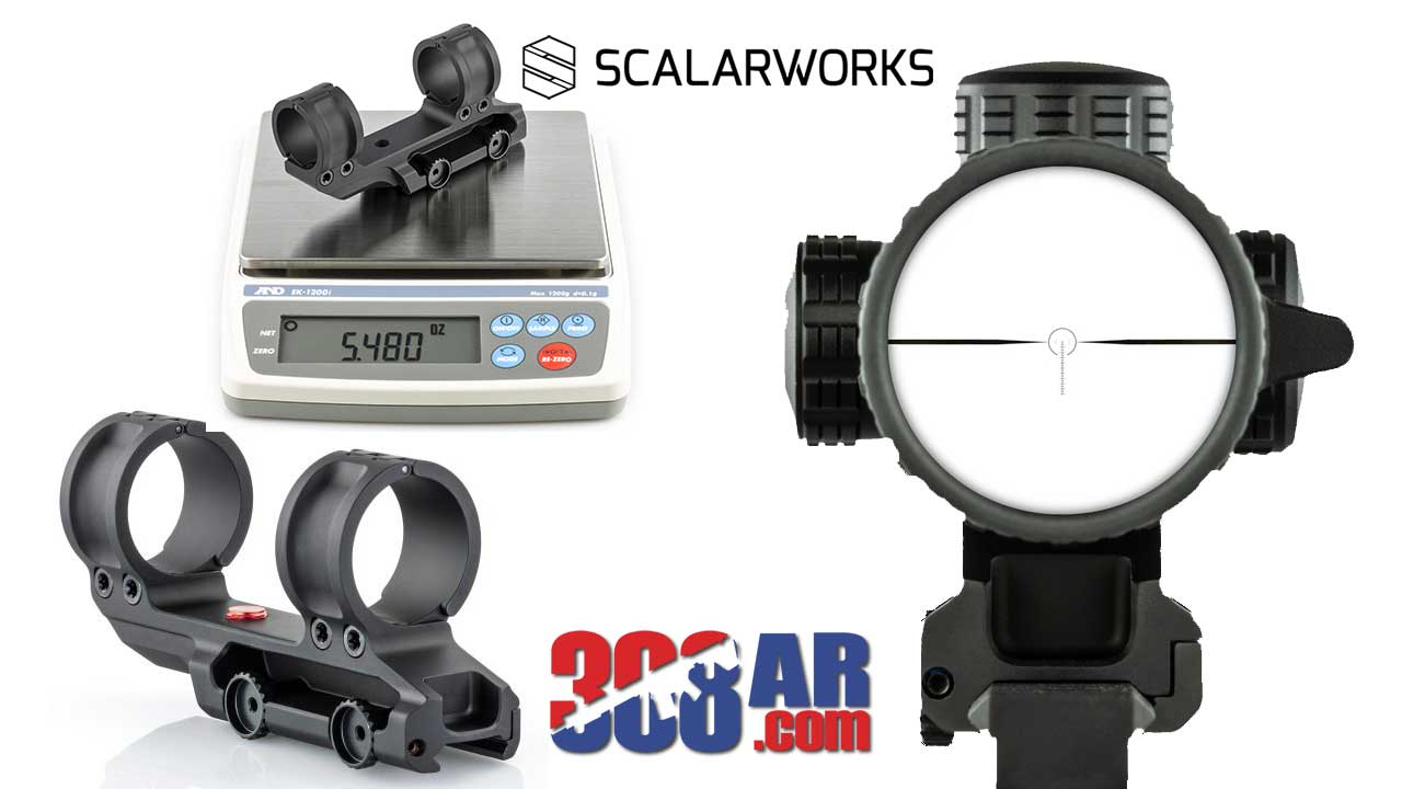 Scalarworks Leap Quick Detach Scope Mount 2