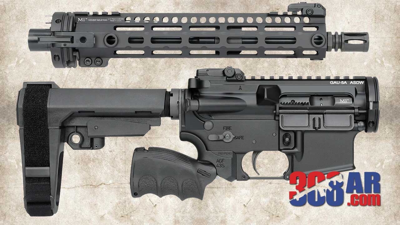 Cry Havoc QRB 308 AR Upper Receiver Takedown Kit